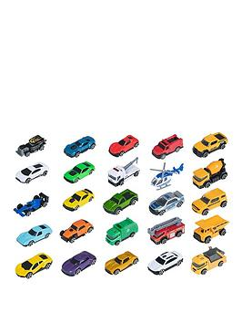 Teamsterz Teamsterz Teamsterz 3 Inch Die Cast Vehicle 25 Pack Picture