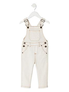 river-island-mini-mini-boys-dungarees-cream
