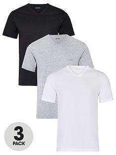 boss-bodywear-threenbsppack-v-neck-t-shirts-whiteblackgrey