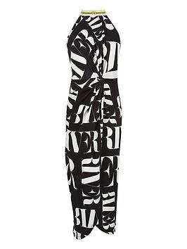 river-island-girls-ri-print-wrap-maxi-dress-monochrome