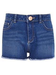 river-island-girls-becca-boyfriend-denim-shorts-blue
