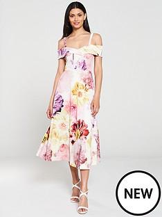 v-by-very-bardot-printed-scuba-prom-dress-floral
