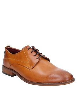 Base London Base London Base London Script Washed Leather Lace Up Shoe Picture