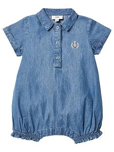 river-island-baby-baby-denim-romper-blue
