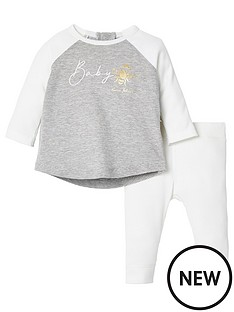 river-island-baby-cream-rib-baby-bee-t-shirt-outfit