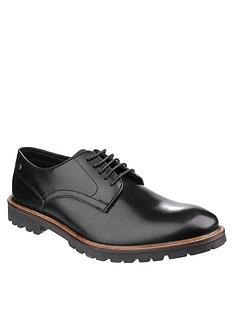 base-london-base-london-barrage-waxy-leather-lace-up-shoe