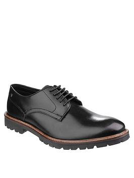 base-london-base-london-barrage-waxy-leather-lace-up-shoe
