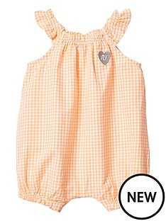 river-island-baby-orange-gingham-romper
