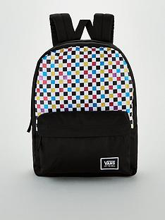 vans-glitter-check-realm-backpack-black
