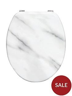 aqualona-marble-effect-hardwearingnbspwooden-toilet-seat
