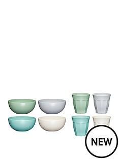 colourworks-8-piece-bowl-and-tumbler-set