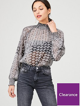 v-by-very-shirred-high-neck-burnout-blouse-paisley