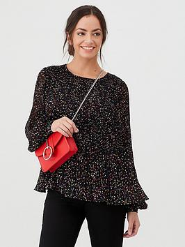 v-by-very-plisse-pleated-shell-top-black-print