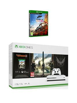 xbox-one-s-xbox-one-s-1tbnbspconsole-with-division-2-amp-forza-horizon-4nbspplus-optional-extras