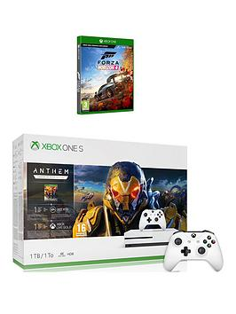 xbox-one-s-xbox-one-s-1tb-anthem-amp-forza-horizon-4-with-optional-extras