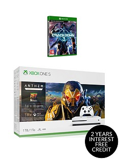 xbox-one-s-xbox-one-s-1tbnbspconsole-with-anthem-amp-crackdown-3-plus-optional-extras