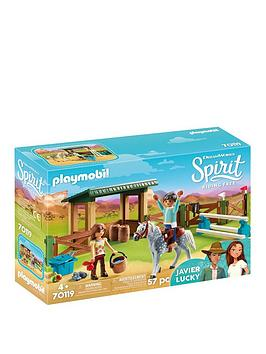 playmobil-dreamworks-spirit-70119-riding-arena-with-lucky-javier-by-playmobil