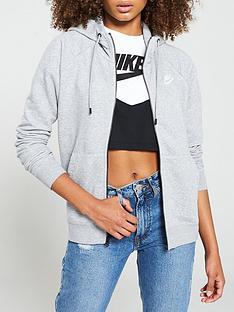 nike-nsw-essential-full-zip-hoodie-grey-heather