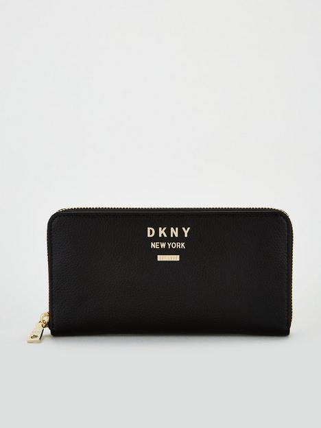 dkny-large-zip-around-purse-black