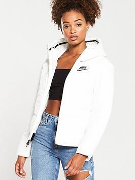 Nike Nike Nsw Padded Jacket - White Picture