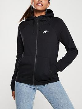 Nike Nike Nsw Essential Fz Hoodie - Black Picture