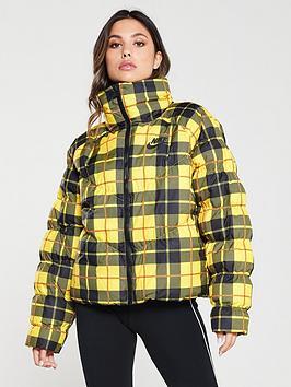 nike-nsw-plaid-jacket-yellownbsp