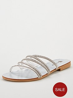 v-by-very-hampton-diamante-strappy-sliders-silver