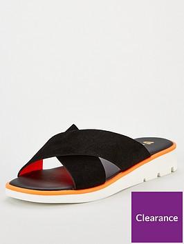 v-by-very-helma-leather-neon-trim-sporty-sliders-black