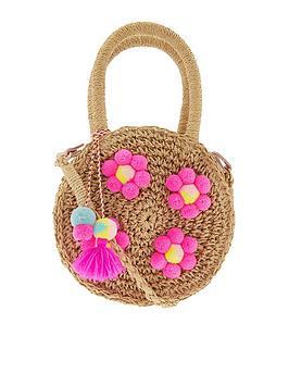 accessorize-girls-multi-pom-pom-faux-straw-bag-brights-multi