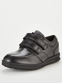 kickers troiko strap shoes - black