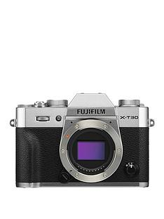 fujifilm-fujifilm-x-t30-camera-body-only-261mp-30lcd-silver