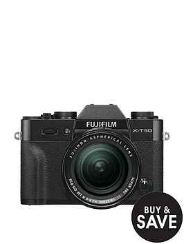 fujifilm-fujifilm-x-t30-camera-xf-18-55mm-lens-kit-261mp-30lcd-black