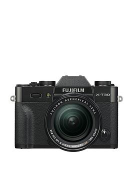 Fujifilm    X-T30 Camera Xf 18-55Mm Lens Kit 26.1Mp 3.0Lcd - Black - X-T30 Camera With 18-55Mm Lens Kit