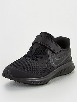 Nike Nike Childrens Star Runner 2 Trainers - Black Picture