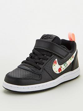 nike-childrens-court-borough-low-trainers-blackmulti