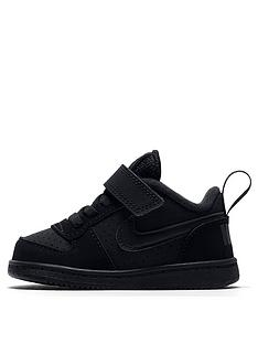 nike-infant-court-borough-low-trainers-black