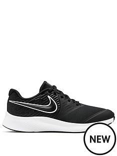 nike-star-runner-2-junior-trainers-blackwhite