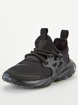 nike-react-presto-childrens-trainers-black
