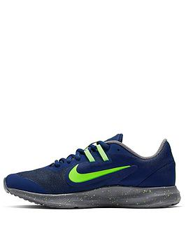 nike-junior-downshifter-9-russell-wilson-trainers-bluegreen