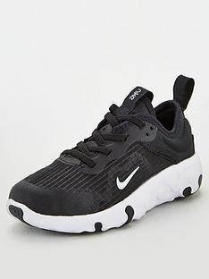 nike-childrens-renew-lucent-trainers-blackwhite