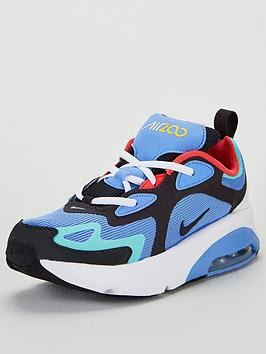 nike-air-max-200-childrens-trainers-bluegrey