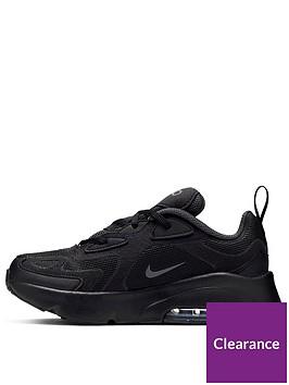 nike-air-max-200-childrens-trainers-black