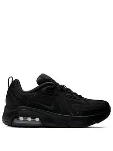 nike-air-max-200-junior-trainers-black