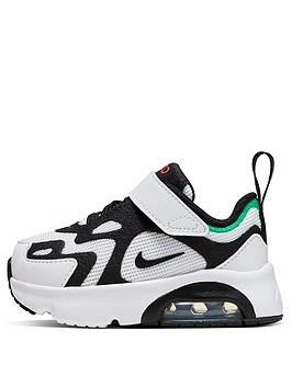 nike-air-max-200-infant-trainers-whiteblack