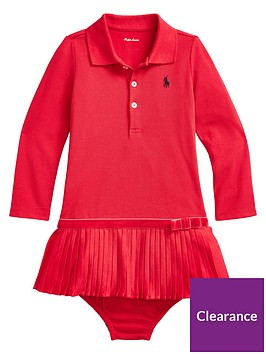 ralph-lauren-baby-girls-polo-pleated-dress-red