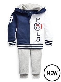 1f856b3a0 Ralph Lauren Ralph Lauren Baby Boys Hoodie & Jogger Outfit
