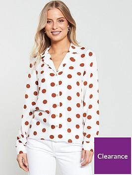v-by-very-spot-open-collar-blouse-spotnbsp