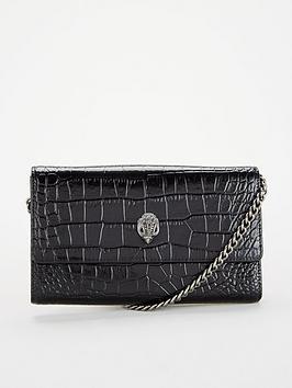 kurt-geiger-london-kensington-chain-wallet-black