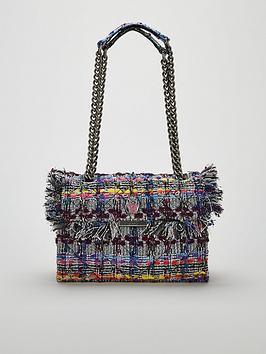 kurt-geiger-london-tweed-kensington-bag-multi