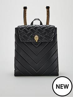 a0cbc045892 KURT GEIGER LONDON Leather Kensington Backpack